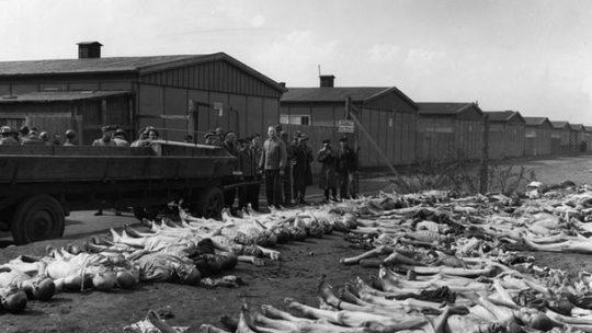 obete dachau smrť koncentračný tábor