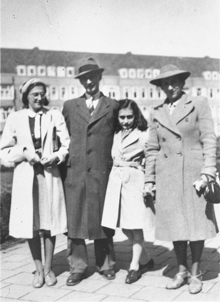 anna franková rodina